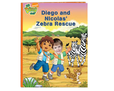 Diego and My Zebra Rescue