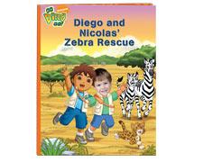 Diego and My Zebra Rescue